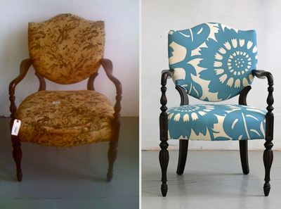 Chairs. Before & After.