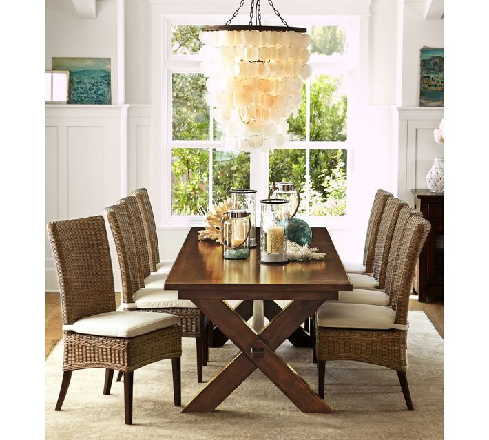 Capiz Chandelier - Large $349 | fabulous lighting | Pinterest ...