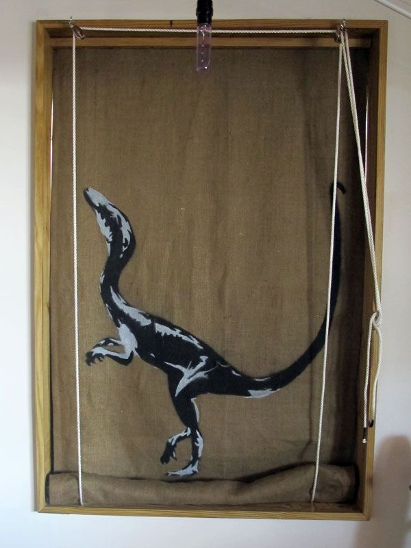 Roll Up Window Shade With A Pulley I Am Going To Make One Of These
