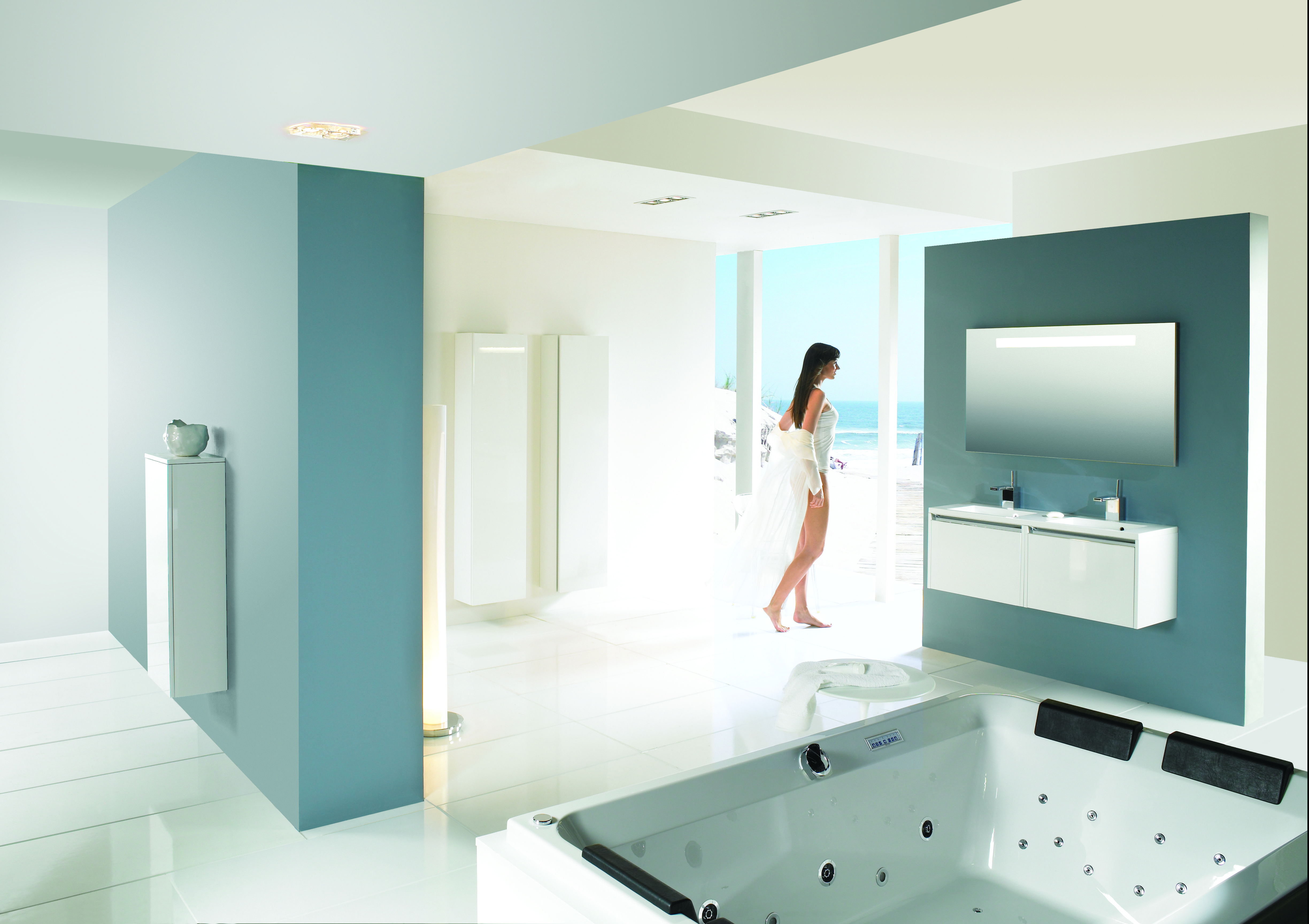 Big whirlpool / bubble bath for 2 persons | RIHO baden | Pinterest ...