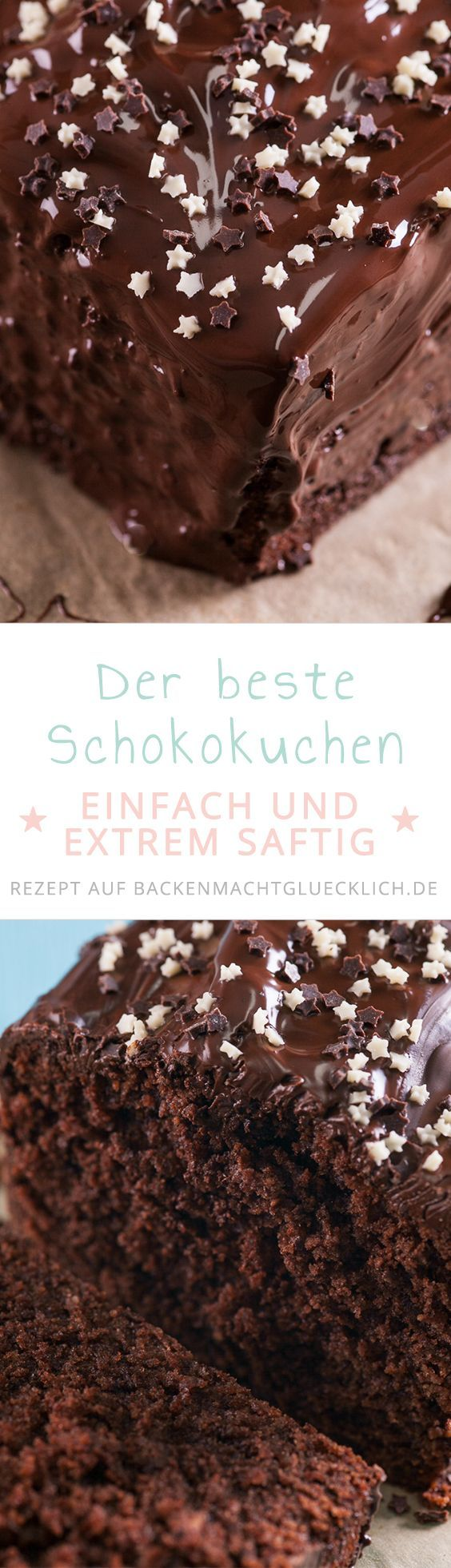 Photo of Pastel de chocolate jugoso simple Hornear te hace feliz
