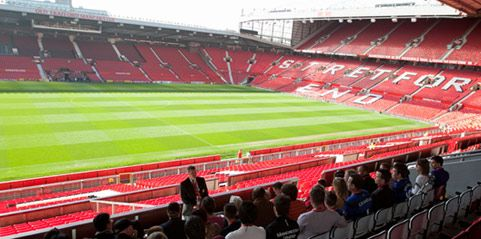 Old Trafford Theatre Of Dreams No Manchester Tour Is Complete Without Manchester United Stadium Stadium Tour Manchester Tour