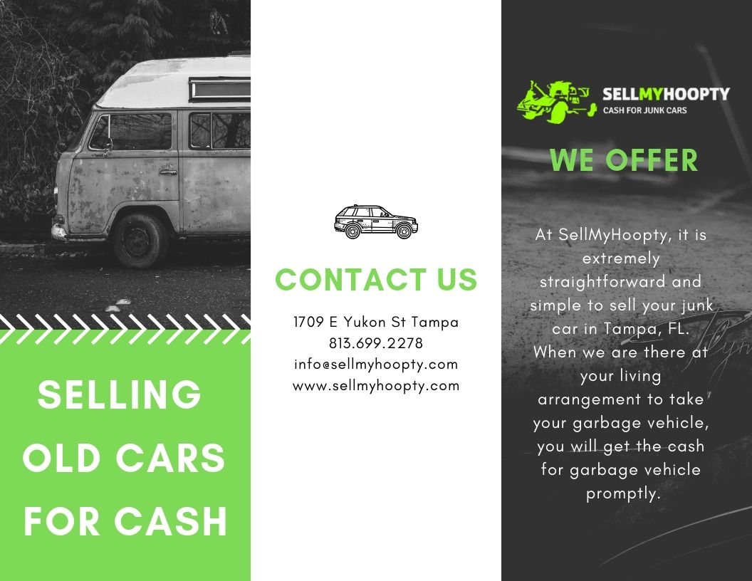 Sell your old cars for cash to SellMyHoopty in Florida