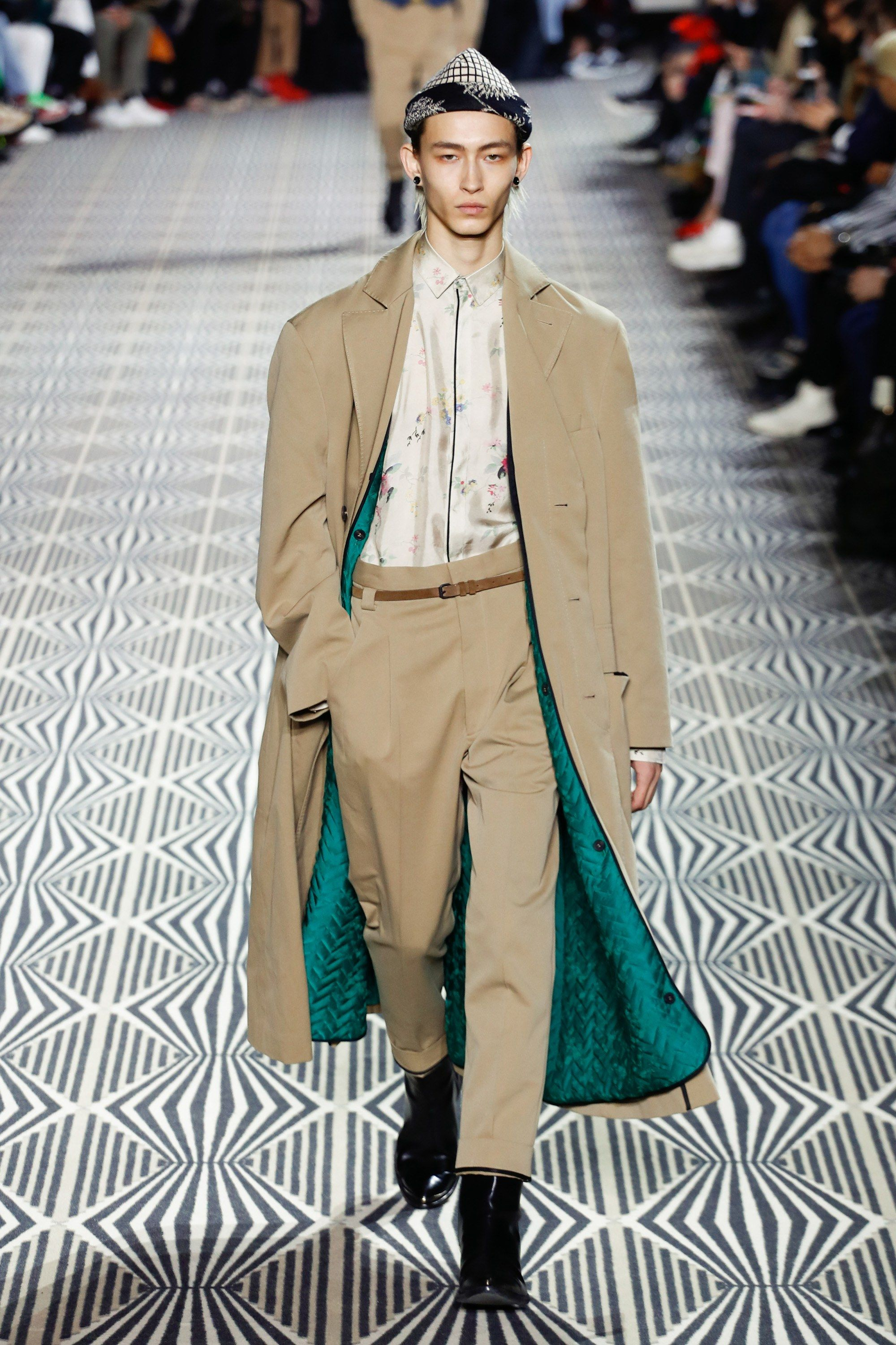Haider ackermann fall menswear fashion show collection