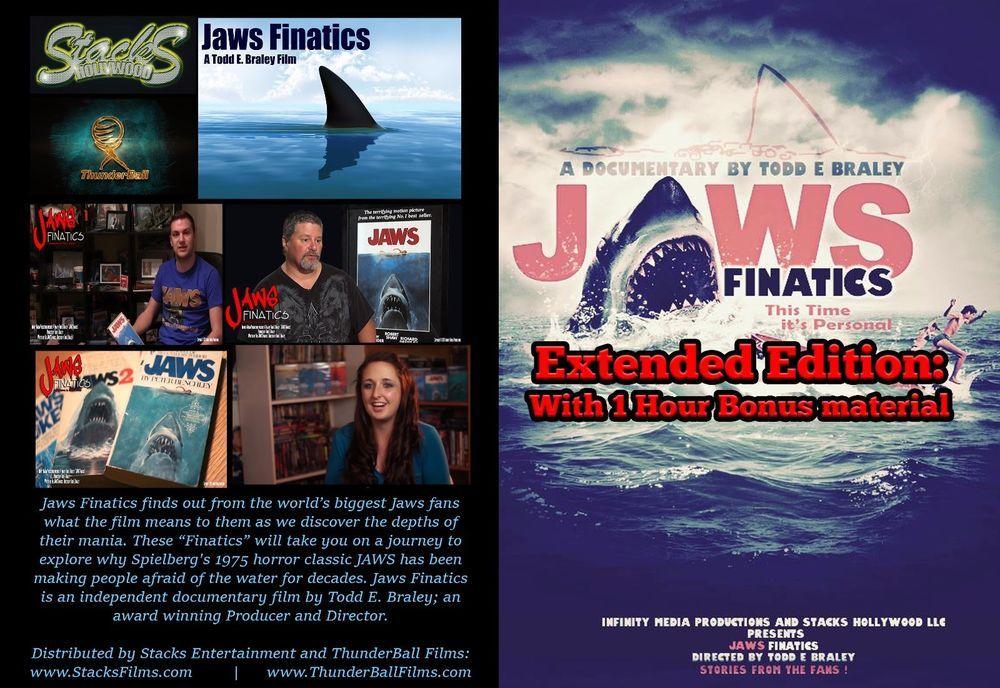 Jaws Finatics Mega Fanfilm Dvd 3 Hour Feature Documentary Documentaries Documentary Movies Jaws Movie