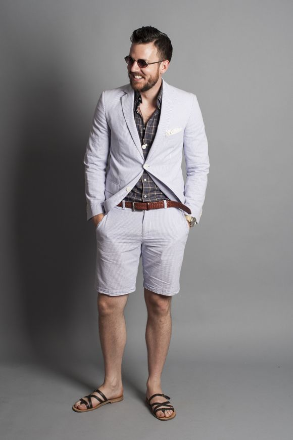 Sports coat with shorts | Luv this style | Pinterest | Coats ...