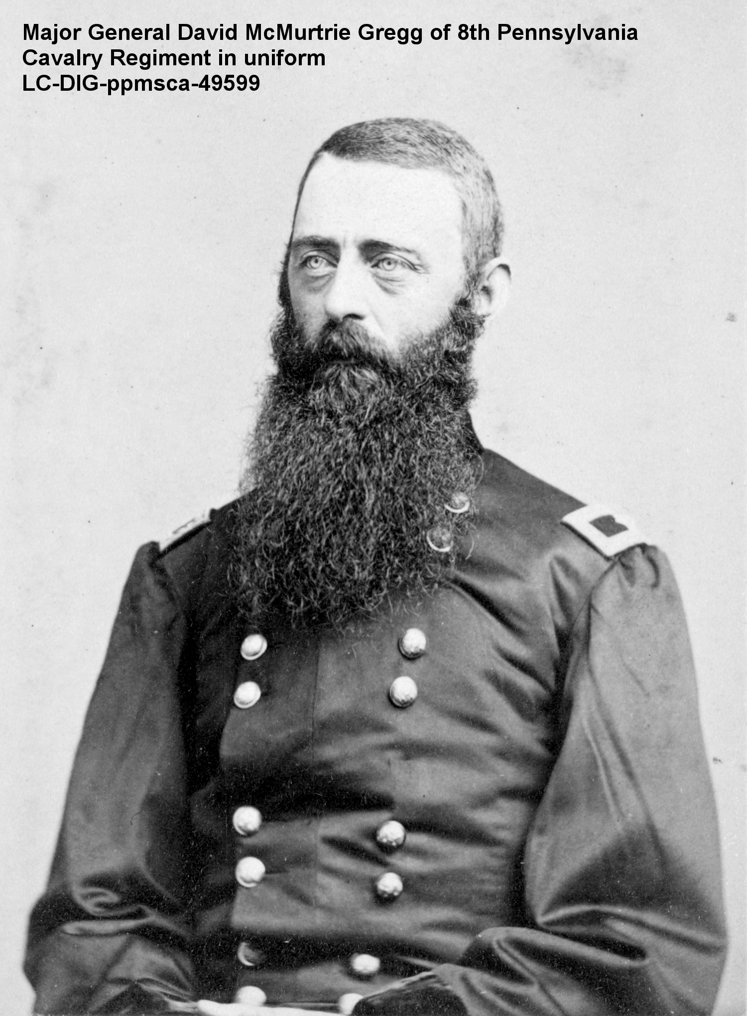 Gregg graduated West Point in 1855, sharing the campus during his time there with a future cavalry comrade – Philip Sheridan – and an adversary – J. E. B. Stuart https://www.amazon.com/Soldiers-Friend-Civil-Cornelia-Hancock/dp/0982809301