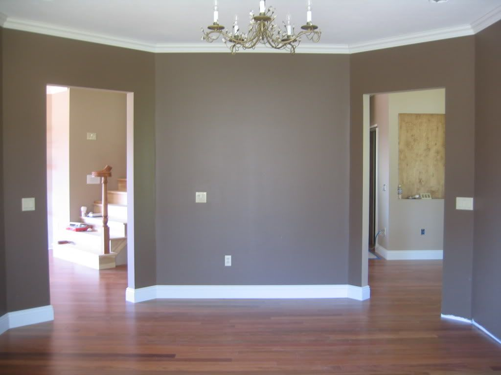 Sherwin williams cobble brown 6082 a girl can hope for a for Brown colors for walls