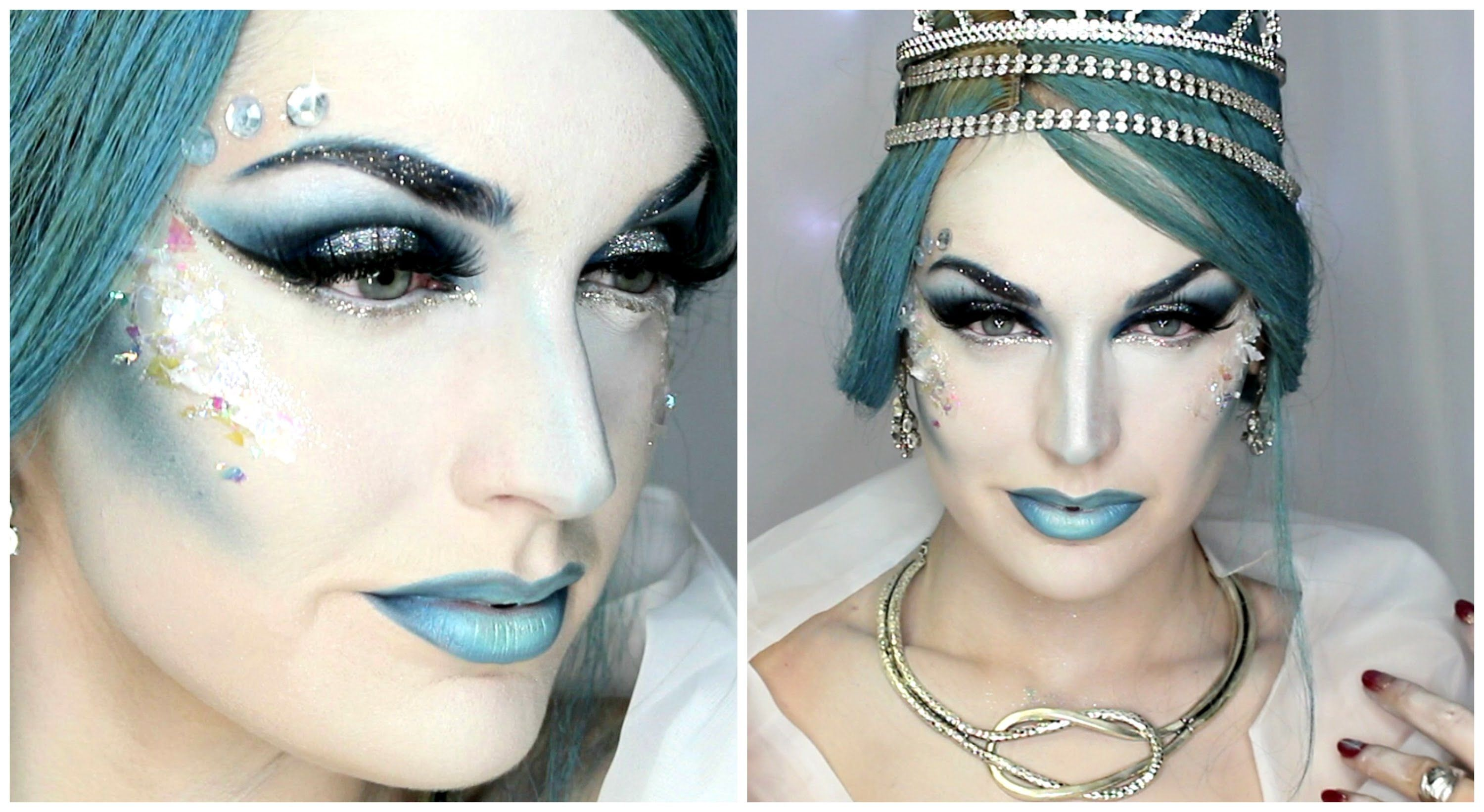 Snow Queen Makeup Tutorial By Lacy Nicole Snow Queen Makeup Queen Makeup Ice Queen Makeup