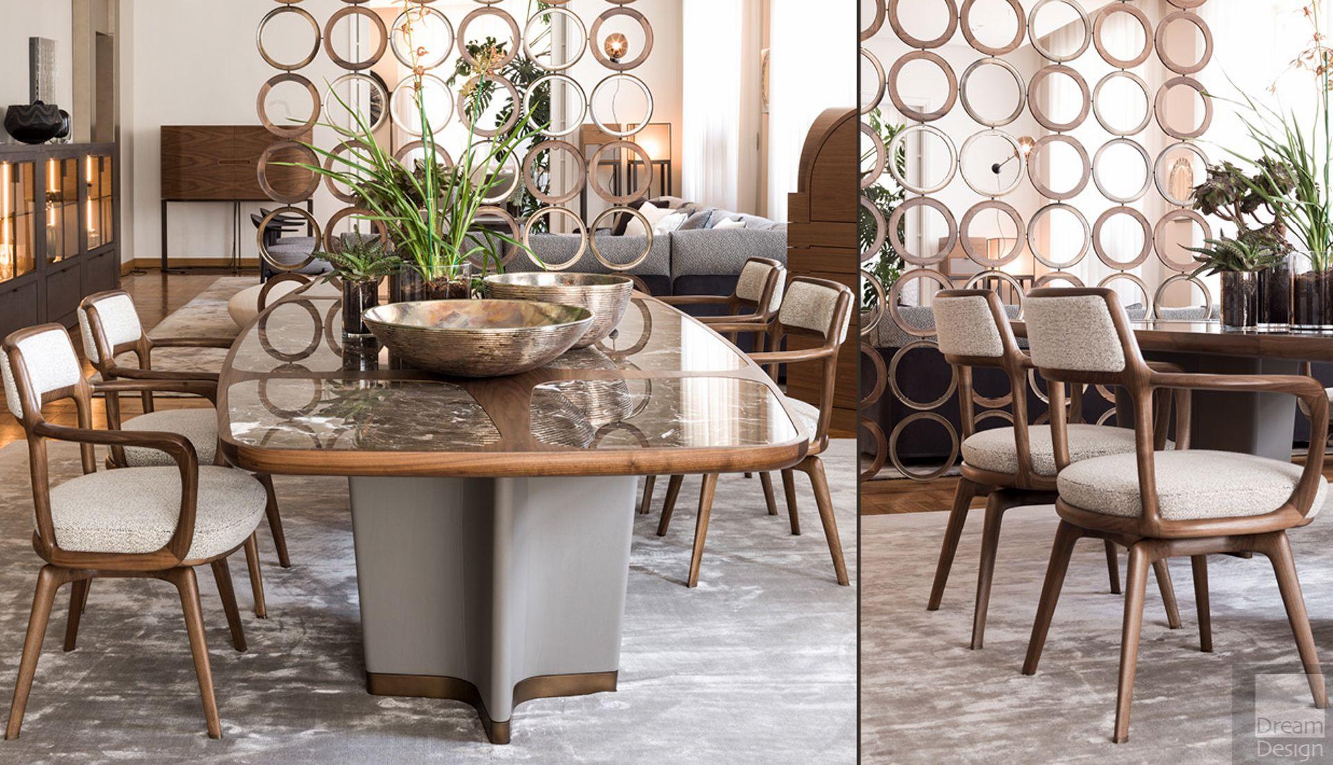Bigwig Table Table, Luxury interior, Dining table