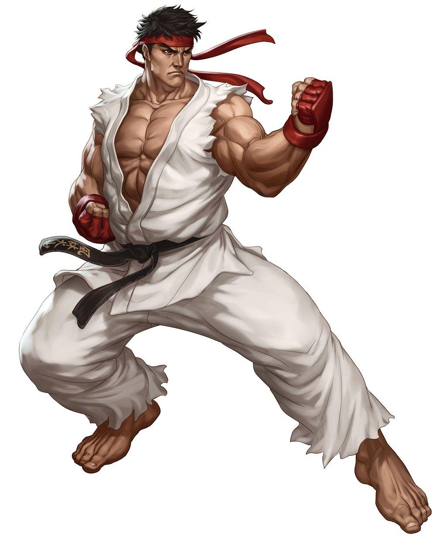 Ryu Street Fighter Iii Third Strike Online Edition Art By