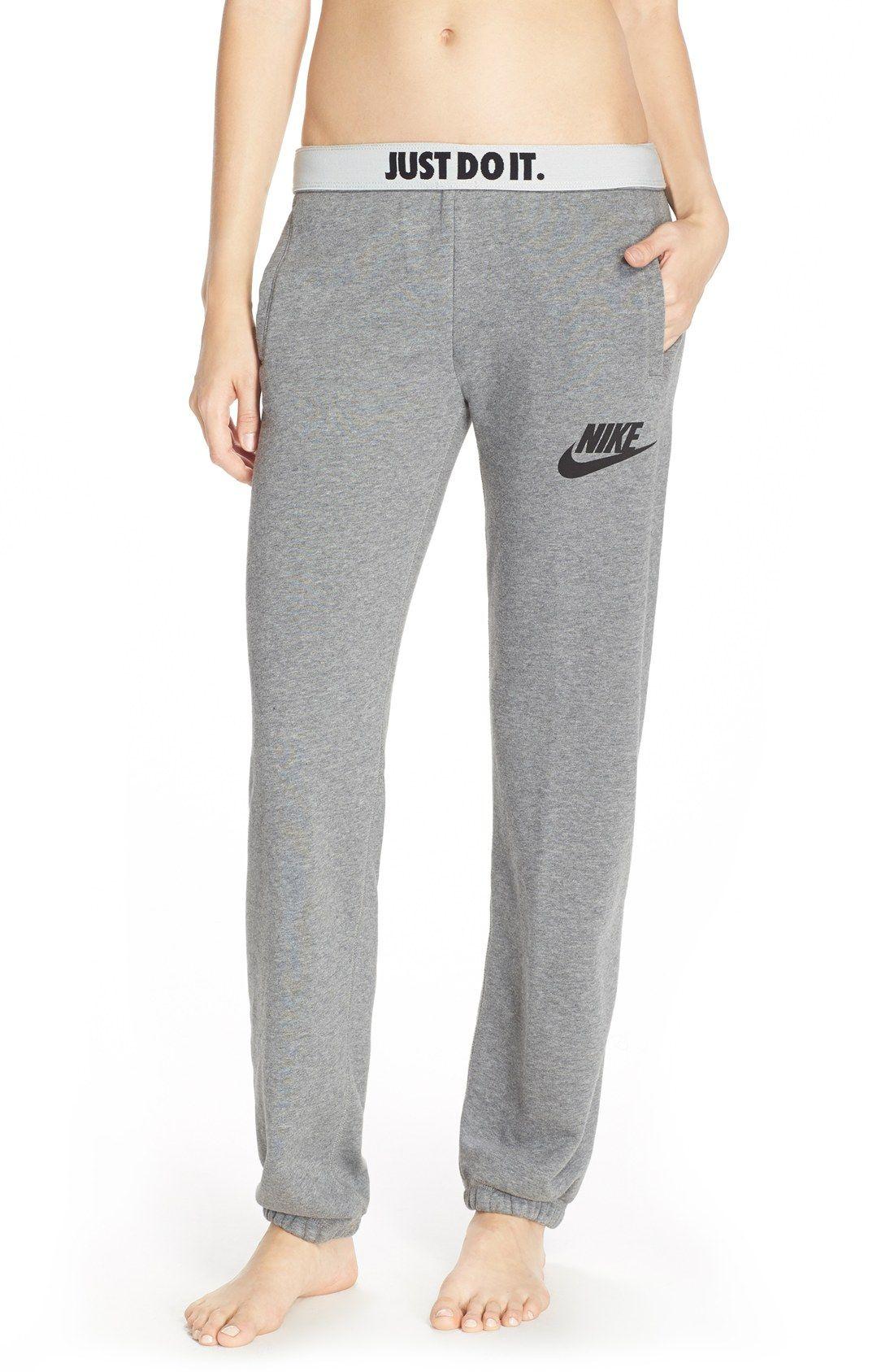 Nike 'Rally' Loose Sweatpants | Sweatpants outfit, Cute