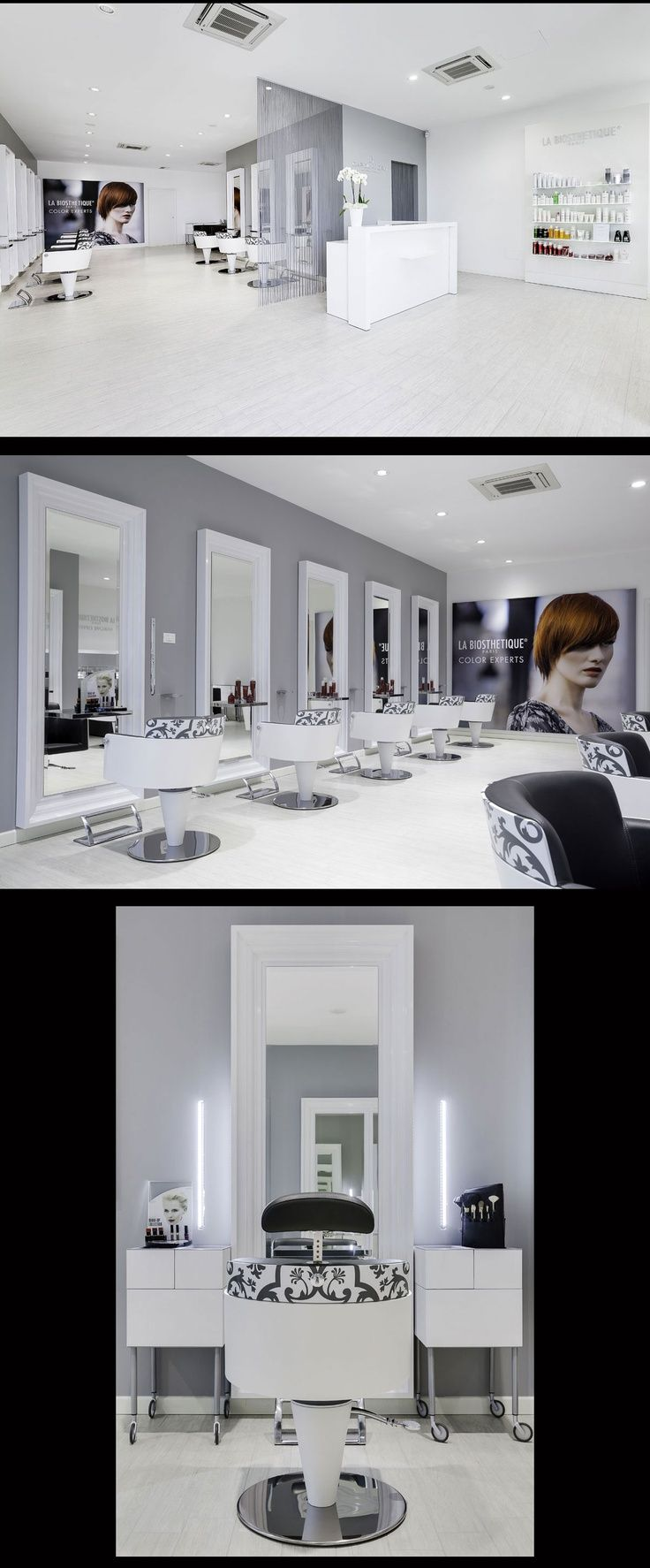 Hair Salon Capolavoro - Mantova (Italy) - Salon Design by Mauro ...