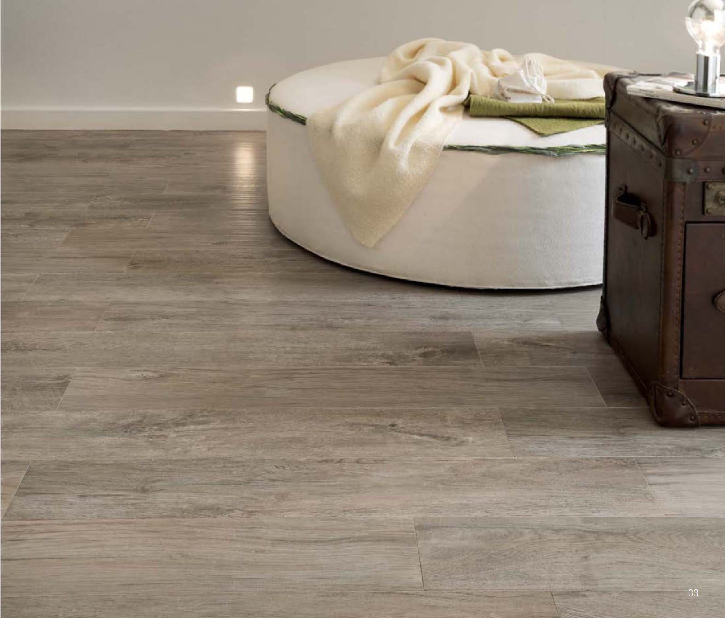 "Logwood Gray 10""x40"" Porcelain Tile Installation Plank"