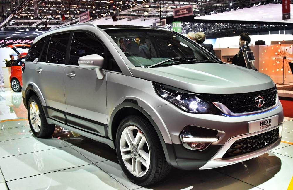 More images and details of the ‪‎Tatamotors‬ ‪Hexa