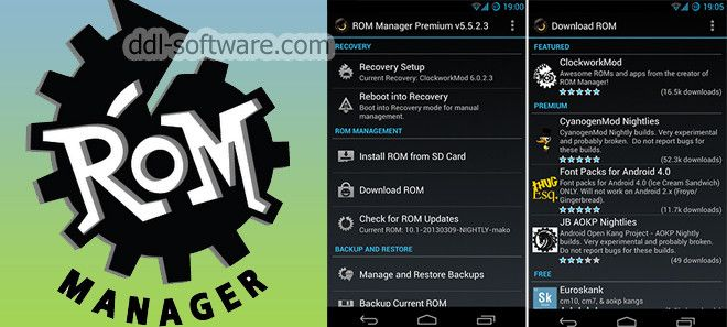 Download Rom Manager Premium Apk Cracked (With images) | Management ...