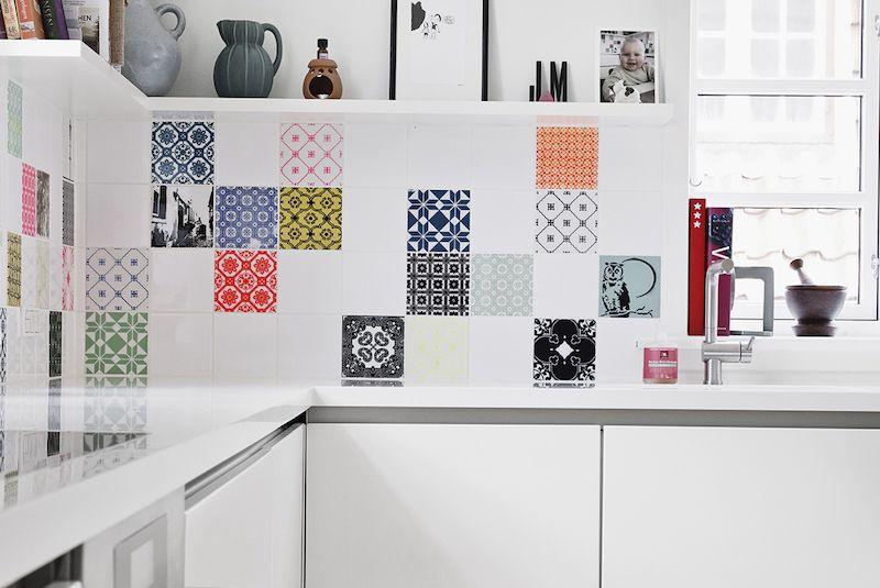 Carrelage cuisine murs et sol- quels designs et couleurs tendance