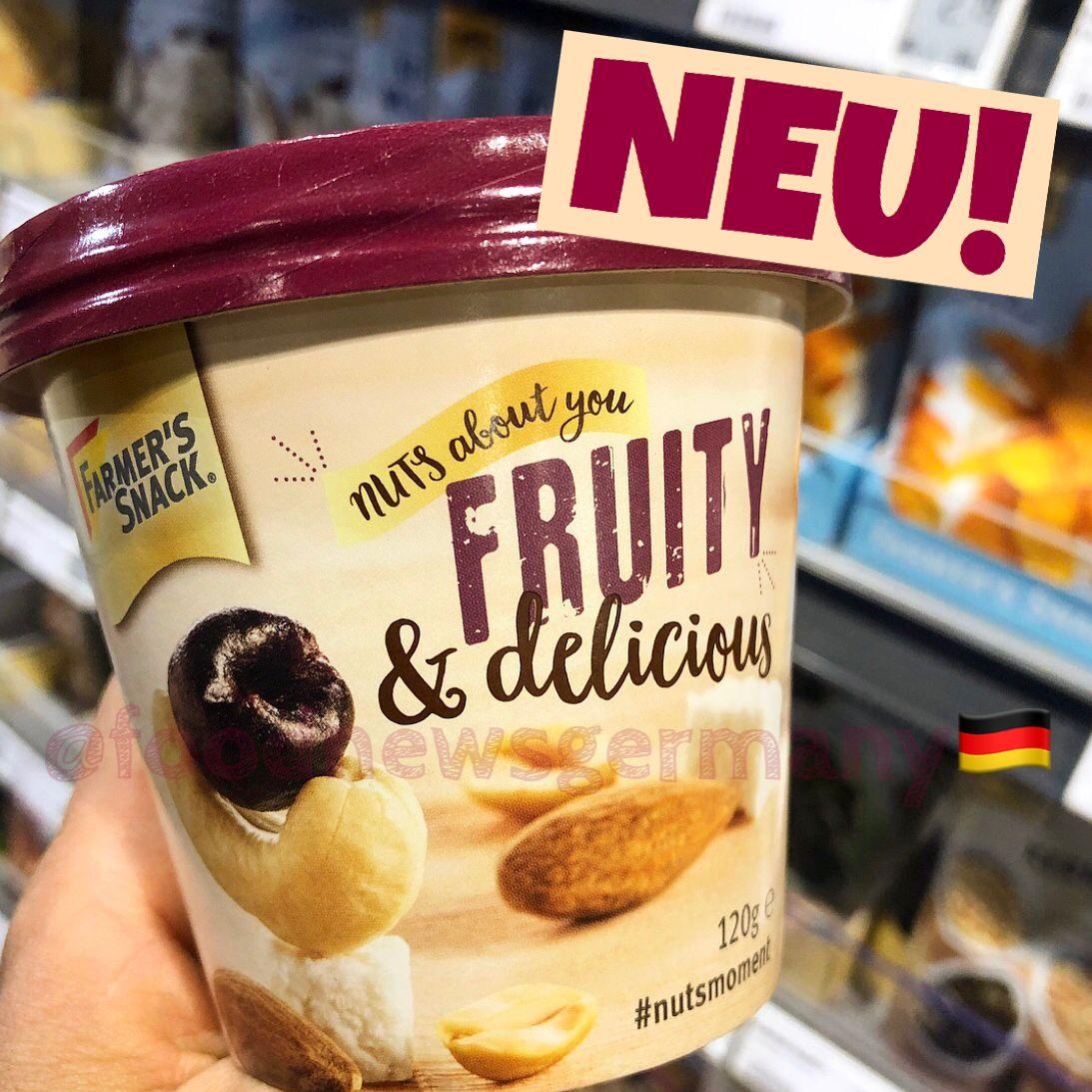 Farmers's Snack. Neu im Supermarkt, neu im Laden, foodnews