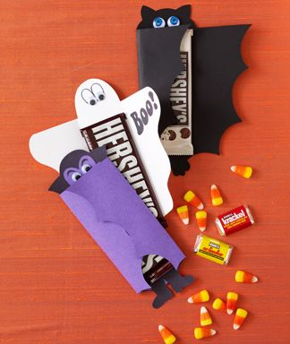 Halloween Craft Project: Cute Candy Wrappers