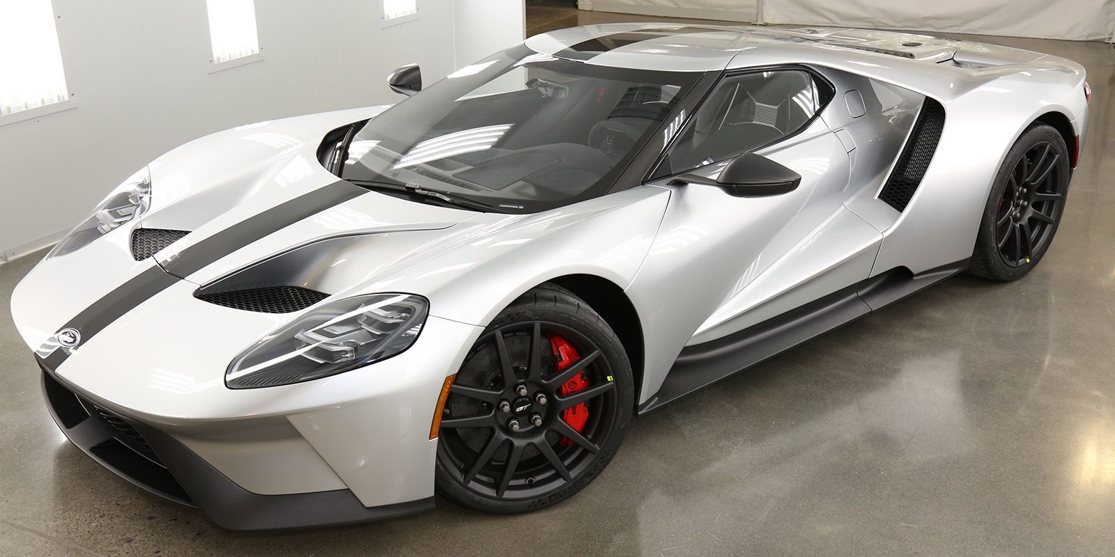 The Lightweight Ford Gt Competition Series Still Weighs More