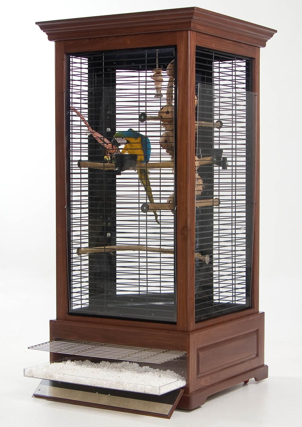 My Kinda Bird Cage For Parrots That Is Anyways More Like A Furniture Style Then Just Metal Wire