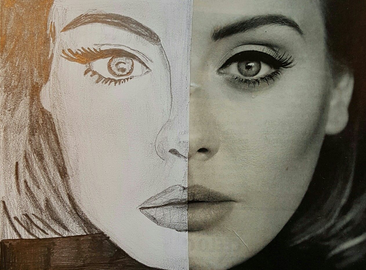 Draw The Other Half Adele Art Ed Central