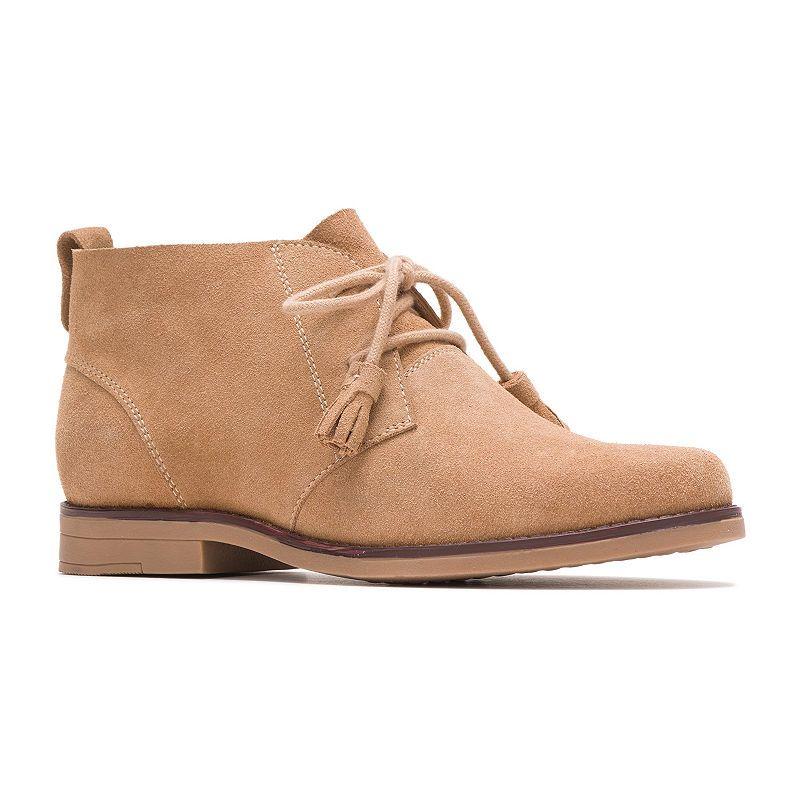 Hush Puppies Womens Ciara Chukka Boots Flat Heel Lace Up Women Shoes Boots Chukka Boots