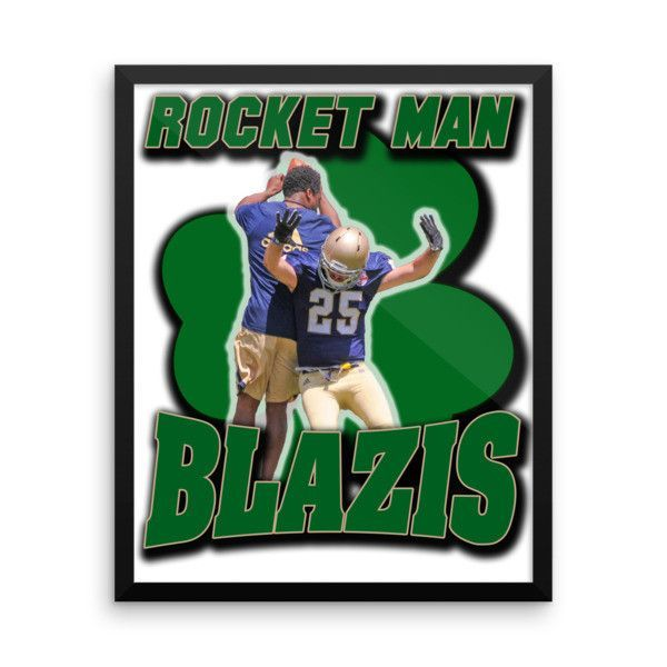 Rocket Man Framed Poster
