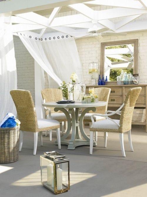 lovely back porch
