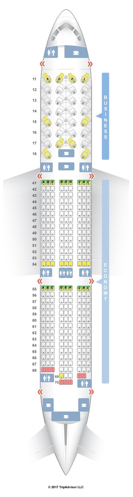 Air Canada 789 Seat Map Air Canada 787 9 Seat Map   Maping Resources