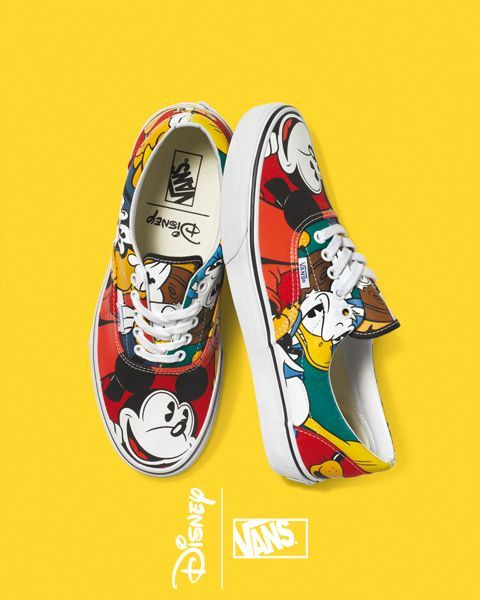 ROYALCHEESE  Paris - Royalcheese Mickey Mouse Vans b59a96e1412