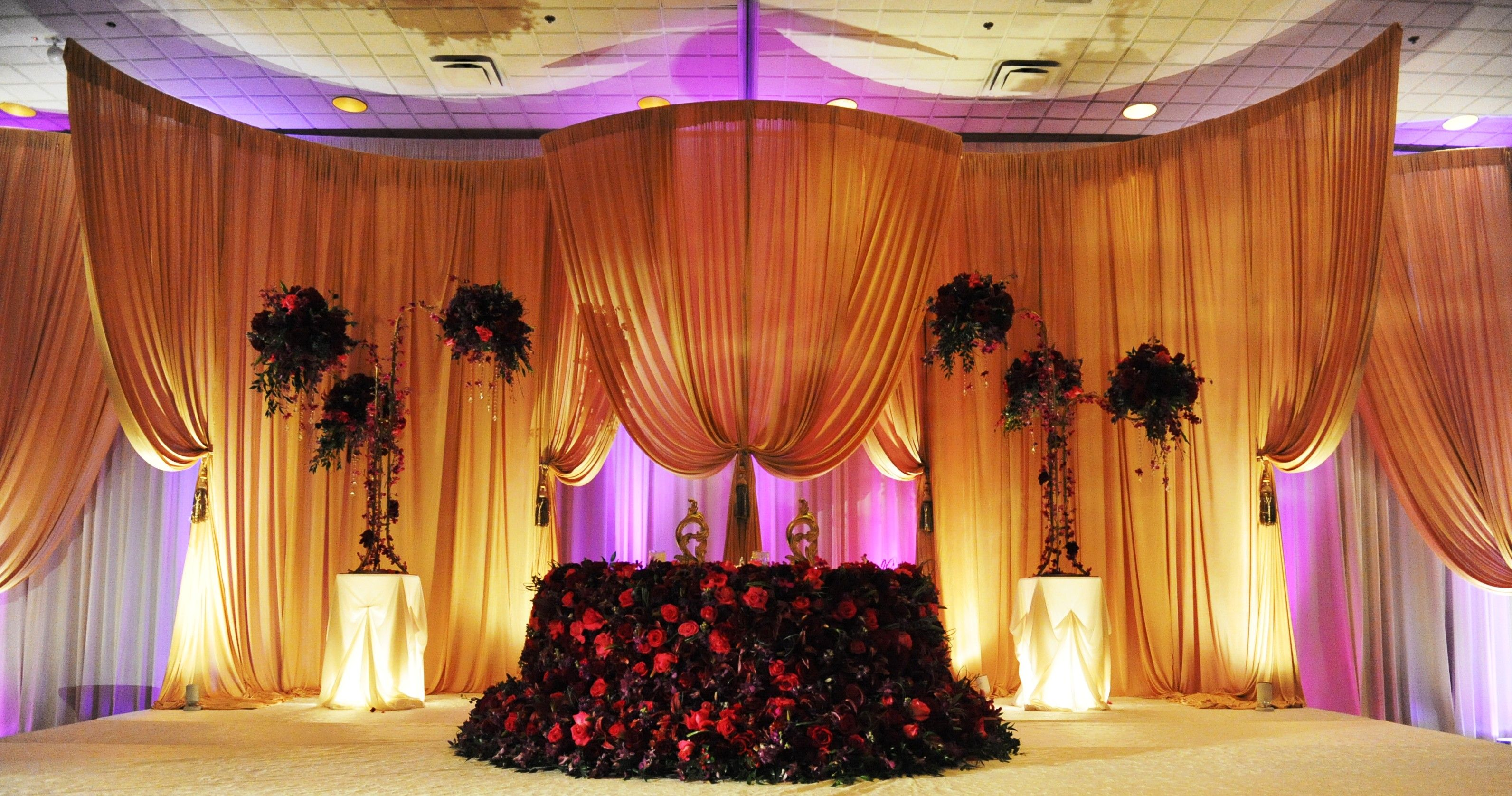 Luxury Wedding Decorations Floral Chicago Yanni Design Studio Luxury Wedding Decor Decor Wedding Backdrop Rentals