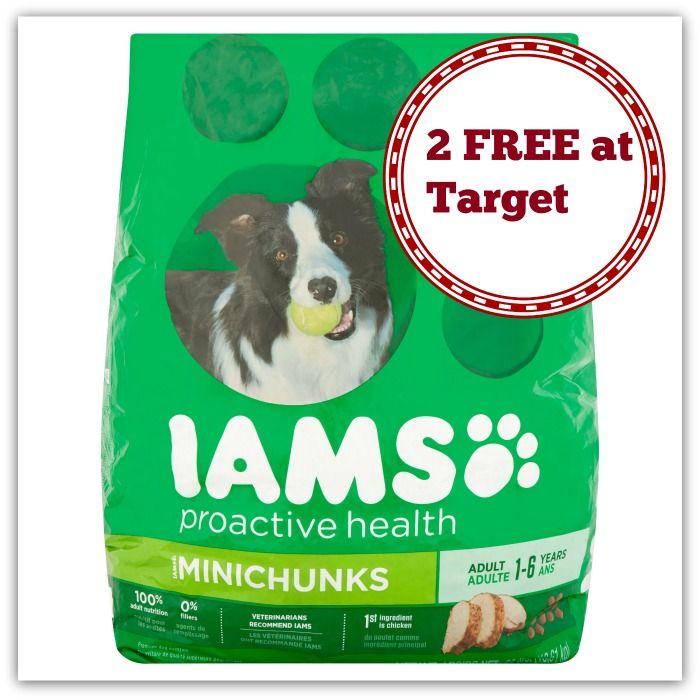 Target 2 Free Iams Dog Food Http Dealmama Com 2017 04