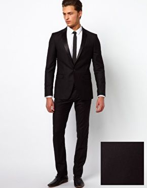 ASOS Selected Two Button Slim Fit Suit (Jacket £90 272183 ...