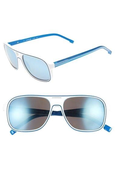 db59a7f26f7 Lacoste+57mm+Aviator Lacoste+57mm+Aviator+Sunglasses+available+at+ Nordstrom