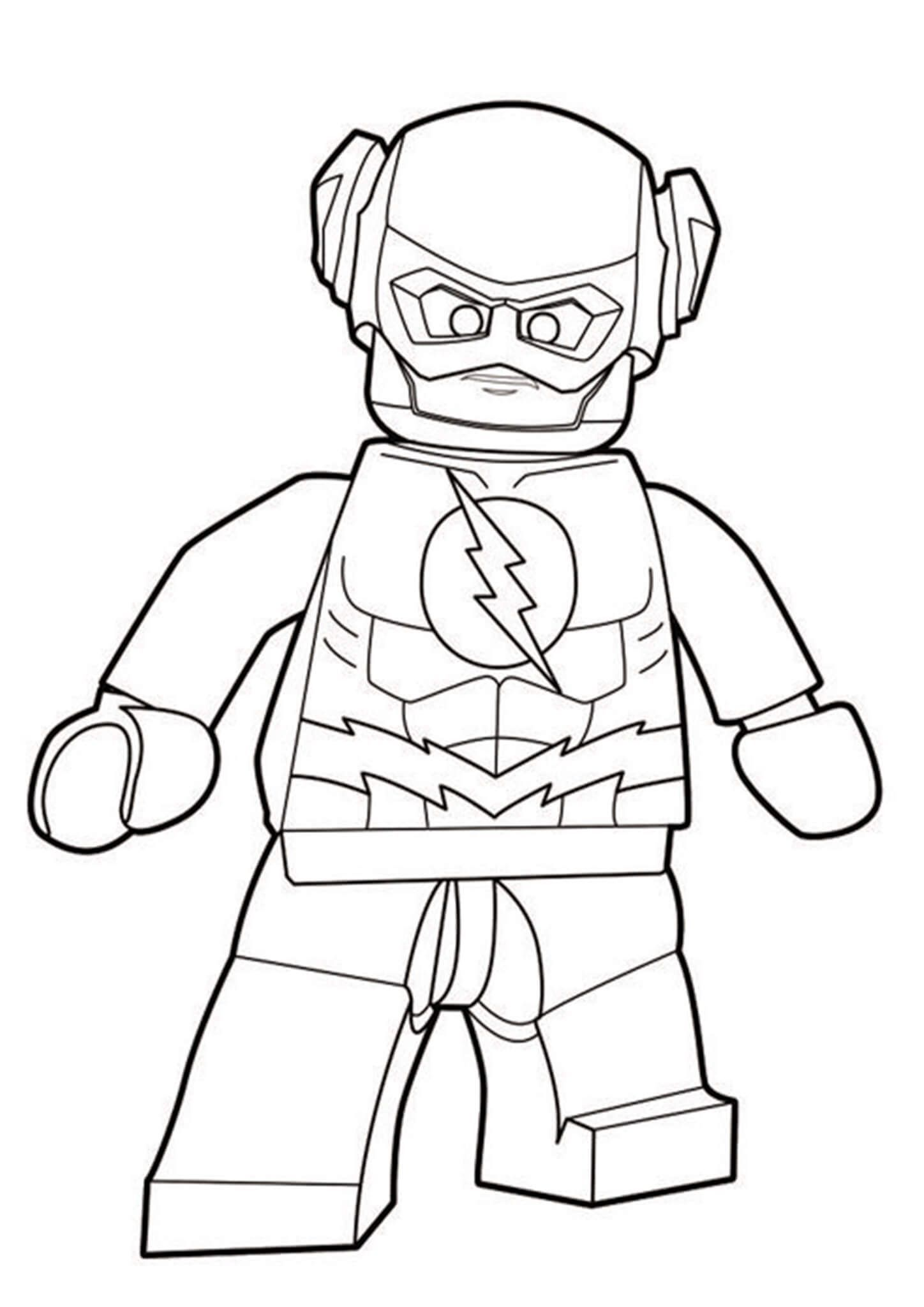 Free Easy To Print Flash Coloring Pages Superhero Coloring Pages Avengers Coloring Pages Lego Coloring Pages