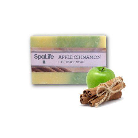 My Spa Life Spa Life Handmade All Natural Soap, Apple