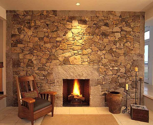 30 astonishing stone fireplaces brings nature materials at home amazing stone fireplaces designs picture - Stone Fireplace Wall Ideas