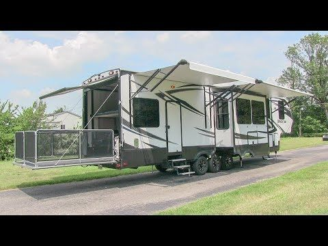 2015 Grand Design Momentum 388m Luxury Toy Hauler 5th Wheel Sold 9 19 2017 Www Helpsellmyrv Com Louisville Kentucky 502 Grand Designs Toy Hauler Louisville Ky