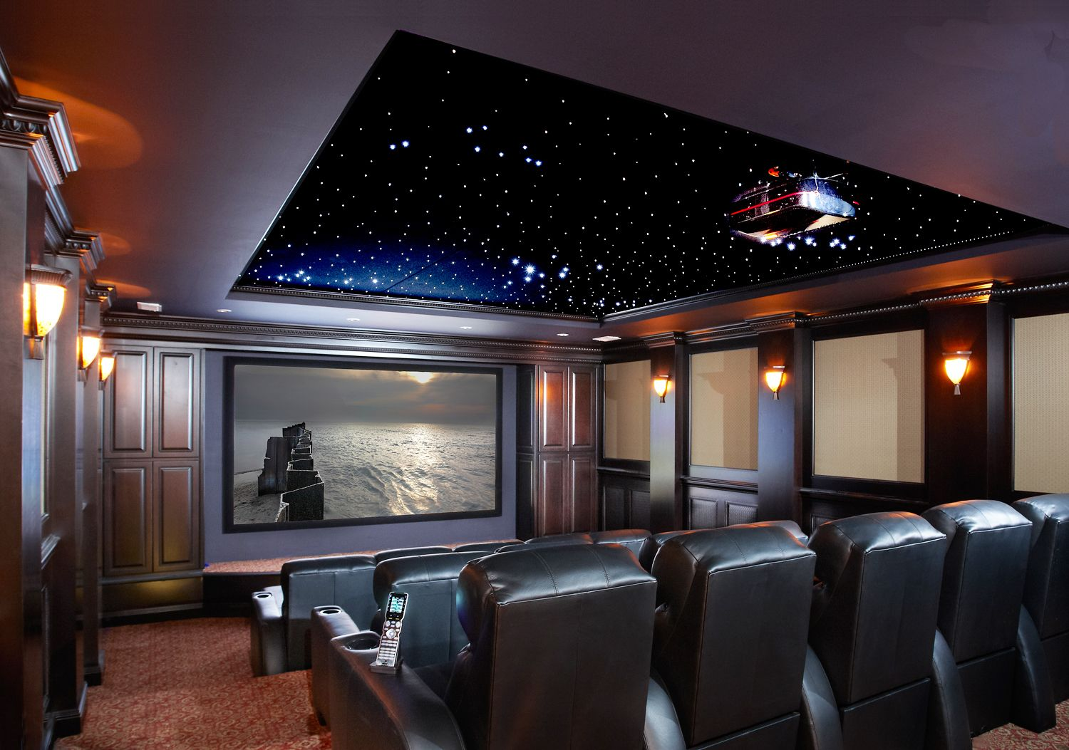 Home Theater Installation Costs Blog Posts Pinterest Wiring A Room Under The Stars Cinema Theatre Setup
