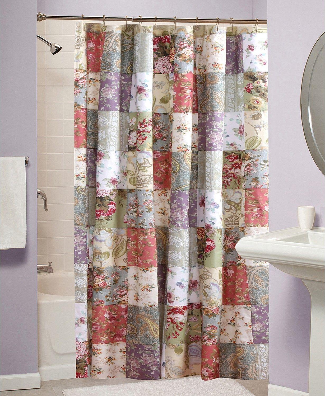 Greenland Home Fashions Blooming Prairie Bath Shower Curtain Reviews Shower Curtains Bed Bath Macy S In 2020 Greenland Home Fashions Curtains Blooming Prairie