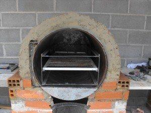 C mo hacer un horno tambor tambor horno y c mo hacer - Como cocinar en un horno de lena ...