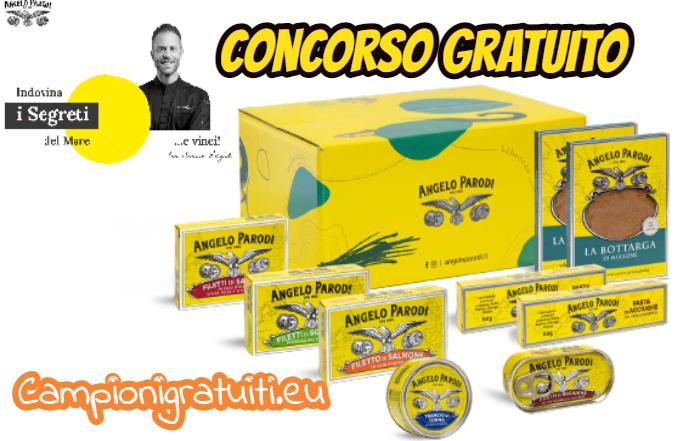 Concorso Angelo Parodi vinci Box Prodotti