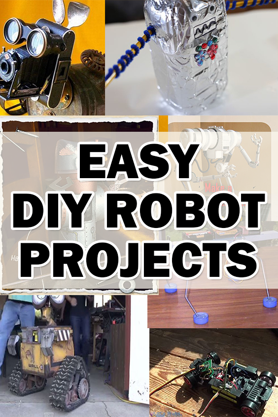 Top 10 robots projects you can do with your kids diy livingspout explore diy robot you can do and more solutioingenieria Choice Image