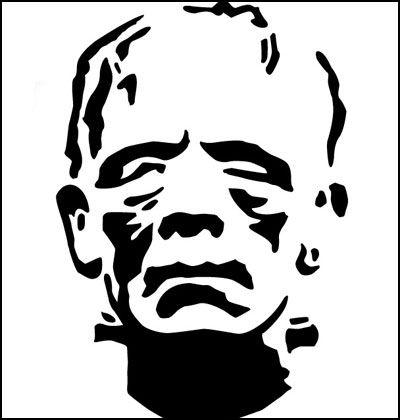 Frankenstein for Frankenstein pumpkin templates
