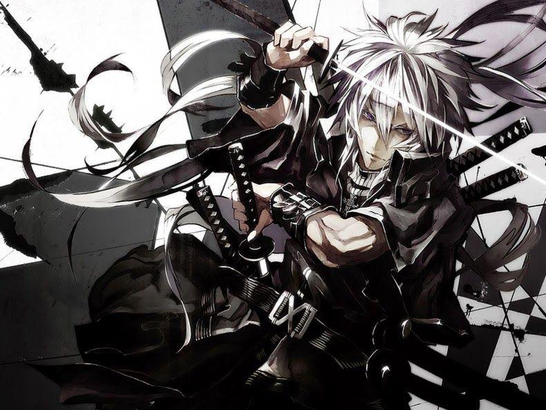 Cool Anime Guys With Swords Wallpaper Cool Anime Guys Anime Awesome Anime