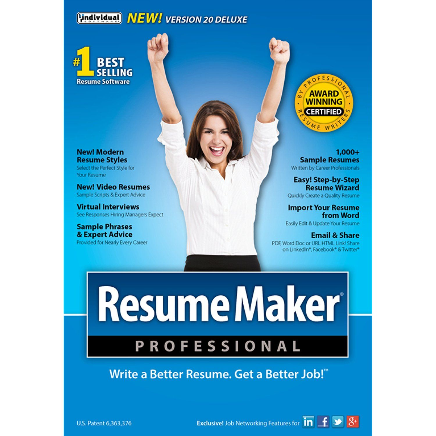 ResumeMaker Professional Deluxe 20 [Download] * Find out more about ...