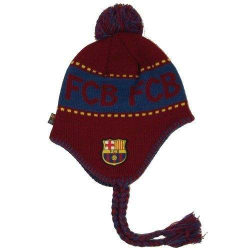 9a3f125d04d FC BARCELONA SOCCER REVERSIBLE BEANIE KNIT HAT CAP by F.C. Barcelona.   14.44. Officially licensed