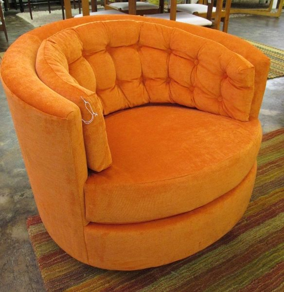 Sensational Amazing 1960 70S Swivel Tub Chair In The Style Of Milo Alphanode Cool Chair Designs And Ideas Alphanodeonline