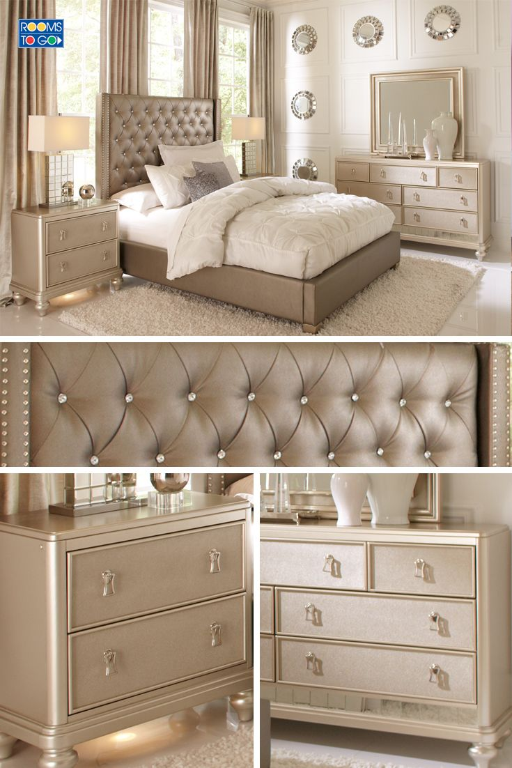 Paris Bedroom Furniture Luxury Bedroom Furniture Mirrored Night Stands White Headboard